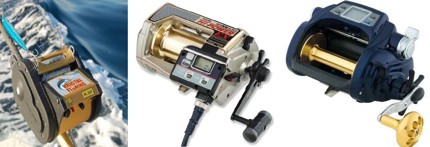 Kristal Fishing XL 655 Ryobi AD 100 HP EX Daiwa tanacom bull 1000